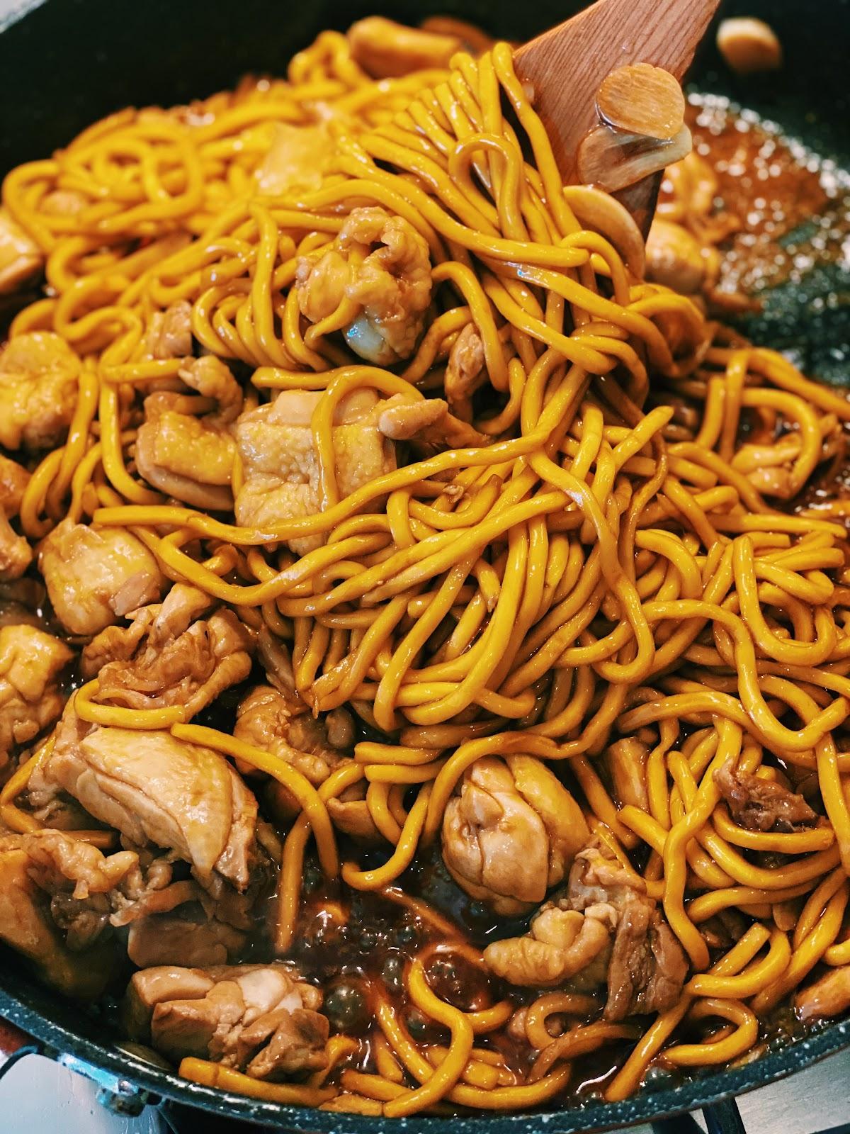 3 cup chicken noodle