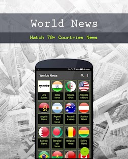 World News - (Newspapers, Magazines, Sports) - náhled