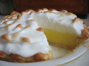 Sharon's Blue Ribbon Lemon Meringue Pie