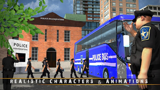 Police Bus Driving Game 3D 1.3 screenshots 2