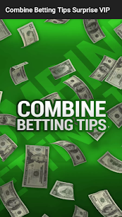 Combine Betting Tips Surprise VIP Screenshot
