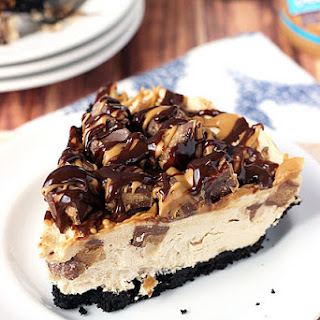 Peanut Butter Cup Ice Cream Cake