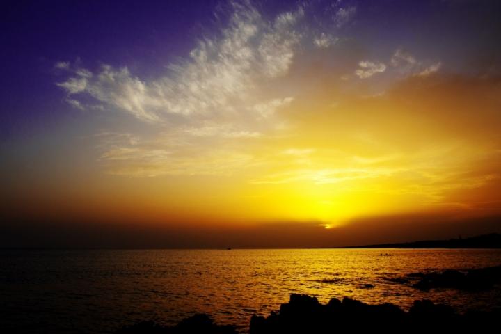 La tavolozza del cielo salentino di maoastori