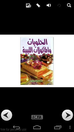 الحلويات والمأكولات الليبية