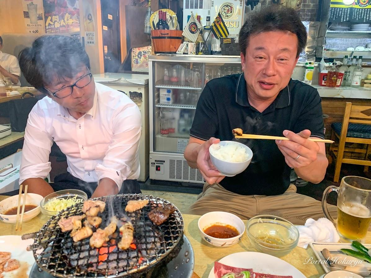 焼き肉もご飯も美味しい!
