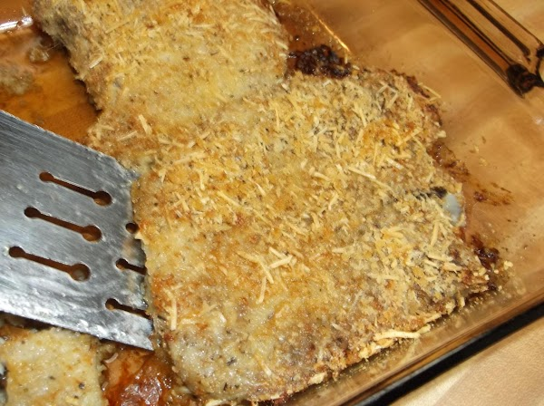 Remove from oven when lightly browned and internal temperature reaches 160° F; serve immediately.