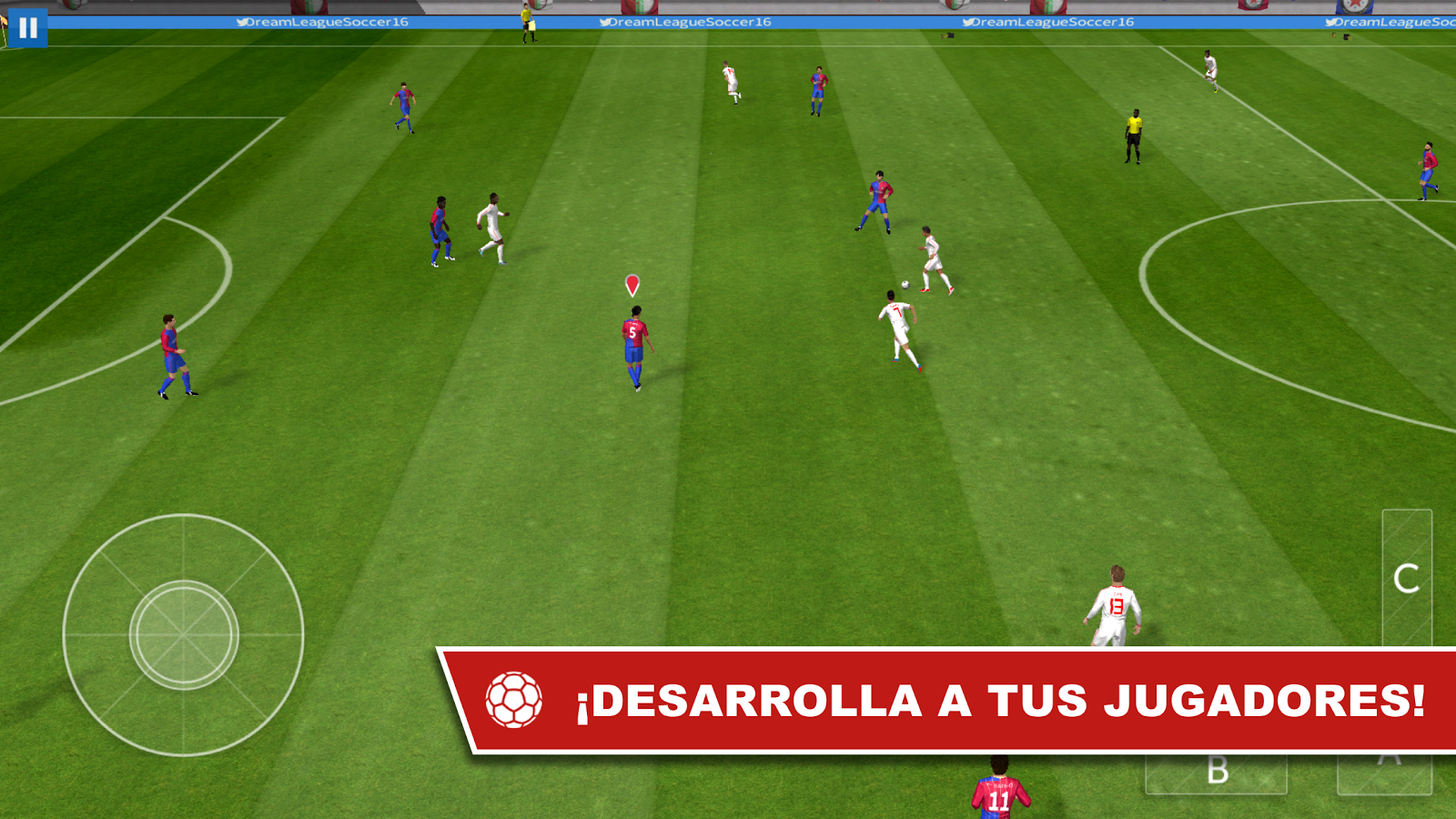 how to play dream league soccer online game center