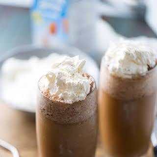 Thai Iced Coffee Frappe.