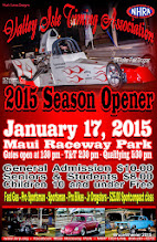 """Photo: Bruce Wheeler's photos from the January 17, 2015 Drag Races at Maui Raceway Park.  PLEASE NOTE: these images are fully copyrighted, by the photographer. Usage without formal permission is prohibited by law. (IN OTHER WORDS; try ask fo' use 'em...please.)  DVDs of all full-size, high resolution images are available dirt cheap. For pricing, please inquire c/o wheelerdealer @ maui-angels . com  For Maui Raceway Park track info online: http://www.mrp.org  For Maui Raceway Park on Facebook: https://www.facebook.com/maui.raceway.park?fref=ts  To see all of my online Maui drags and travel photography albums go here: http://www.maui-angels.com/wheelerdealer/photoalbums.html  Please visit my Wheeler Dealer AA/Fuel Dragsters web pages: http://www.maui-angels.com/wheelerdealer  And, please """"like"""" the Wheeler Dealer Facebook page: https://www.facebook.com/pages/Bruce-Wheelers-Wheeler-Dealer-AAFuel-Dragsters/119133934834675?ref=ts&fref=ts  Poster art mahalo to Mark Caires Designs"""