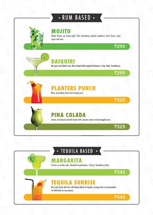 The Beer Cafe menu 21