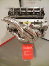Photo: Ferrari engine on display