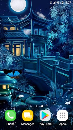 Magic Night Live Wallpaper 1.0.8 screenshots 1