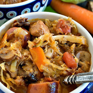 Bigos (Polish Hunter's Stew).
