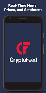 CryptoFeed: Currency News, Prices, and Sentiment - náhled