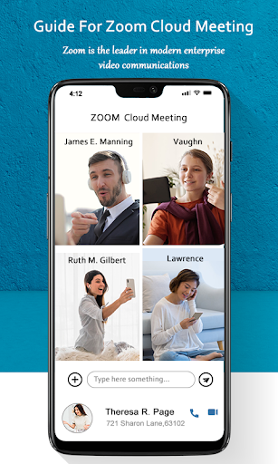 Guide for ZOOM Cloud Meetings Video Conferences screenshot 1