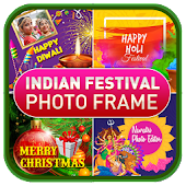 Indian Festival Greetings Photo Frame