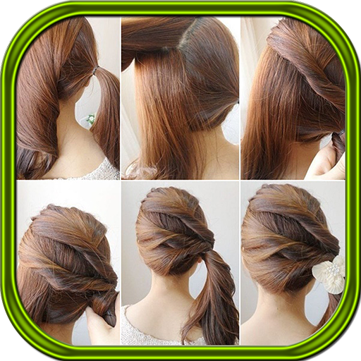 Easy Hairstyle Step by Steps
