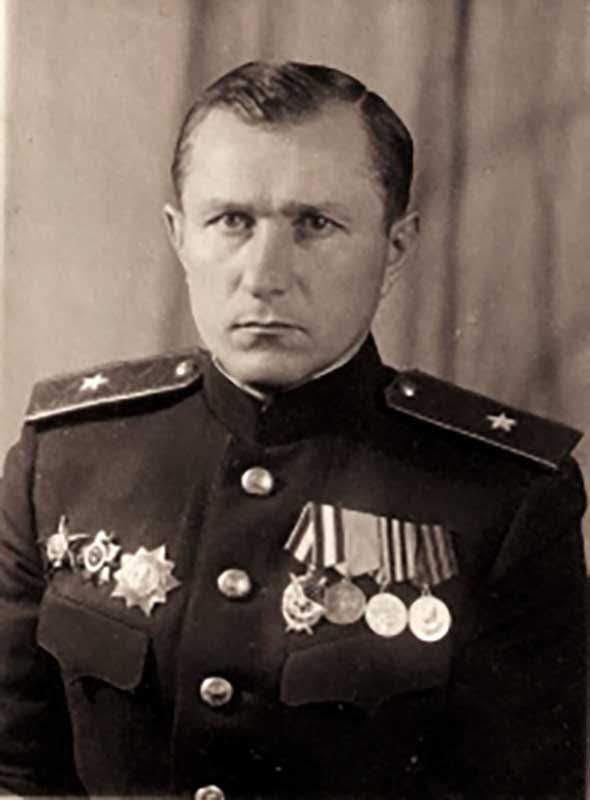 Солодовник Н.С. - нач-к разведки 20А