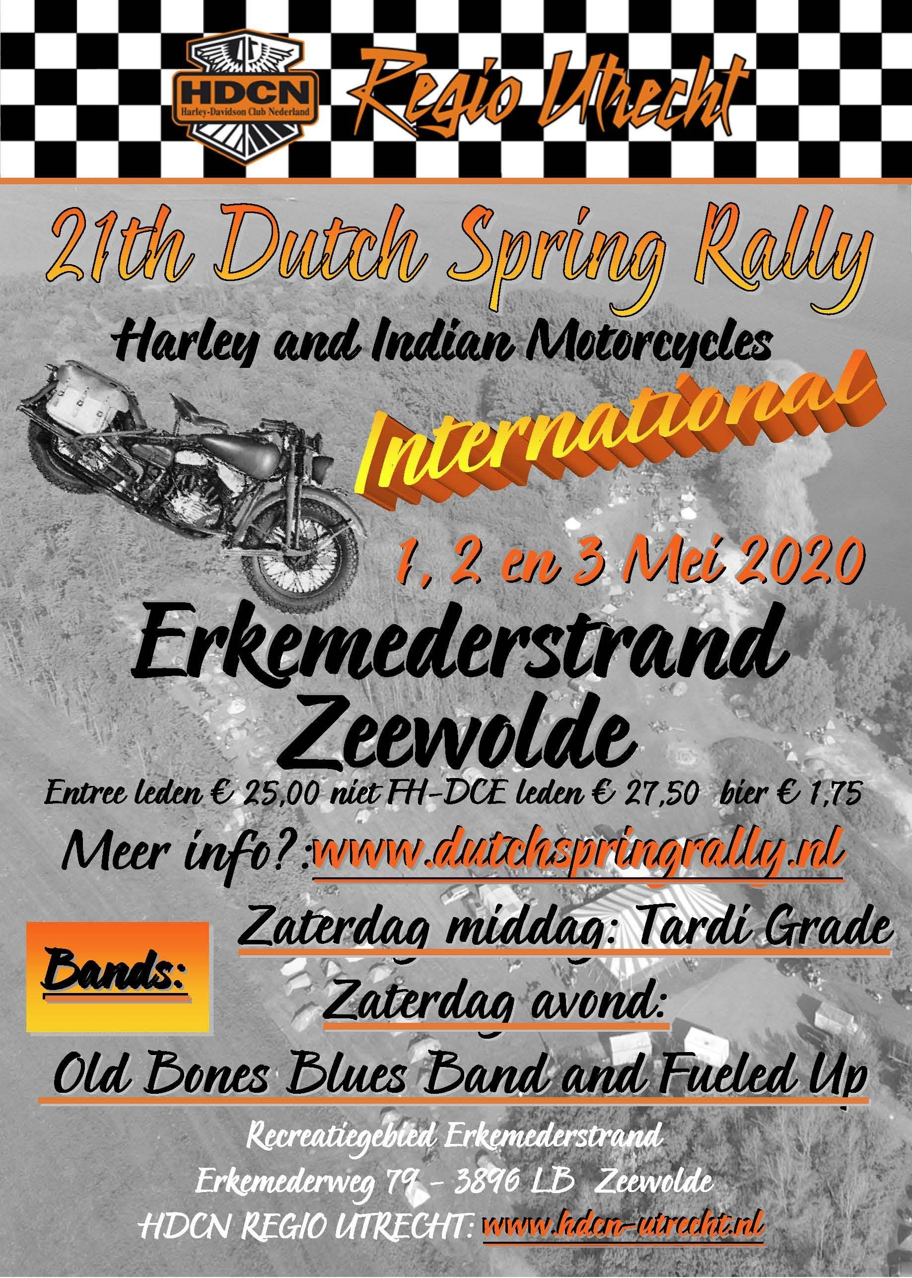 Flyer Dutch Spring Rally