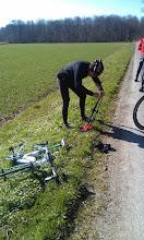Photo: Første punktering ... Jan J. og der var ingen indlæg i :-)