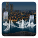 Dubai Fountain Live Wallpaper icon