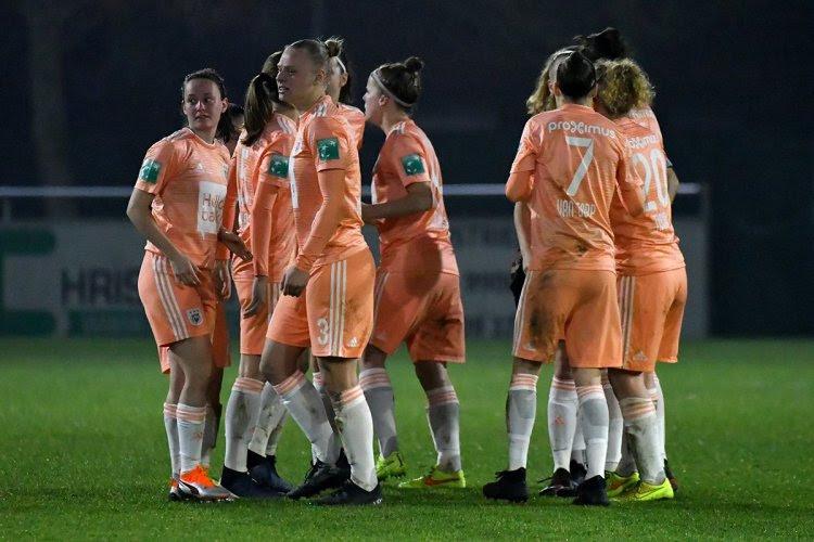 Vrouwen Anderlecht mogen opnieuw de Champions League in