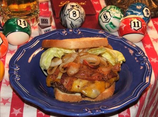 My Bacon Cheddar Ranch Burgers Recipe