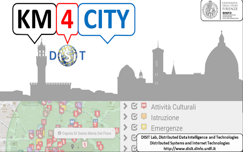Florence where,what. Km4City- screenshot thumbnail