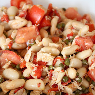 Lemony Tuna and White Bean Salad