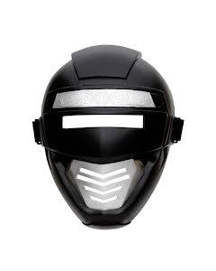 Barnmask Superhjälte, svart