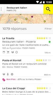 PagesJaunes – recherche locale - screenshot thumbnail