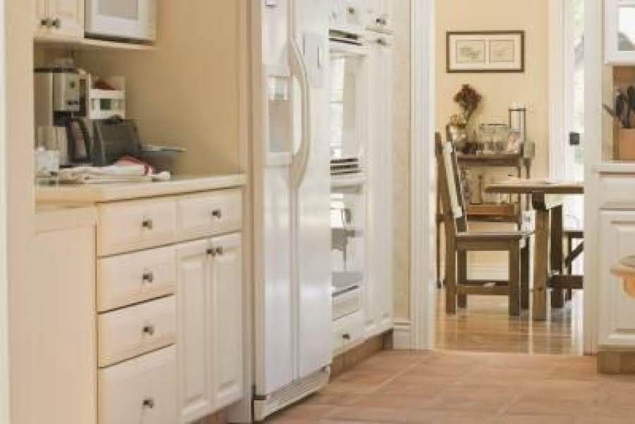 how to clean white appliances