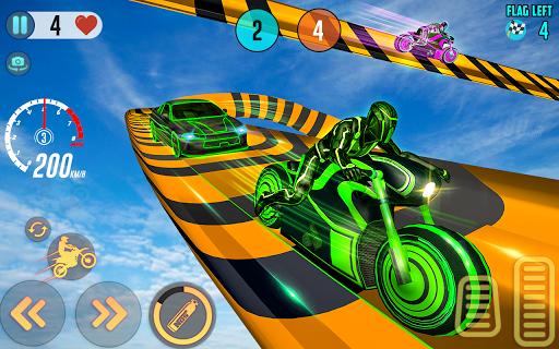 Mega Ramp Light Bike Stunts: New Bike Racing Games 2.0.0 screenshots 10