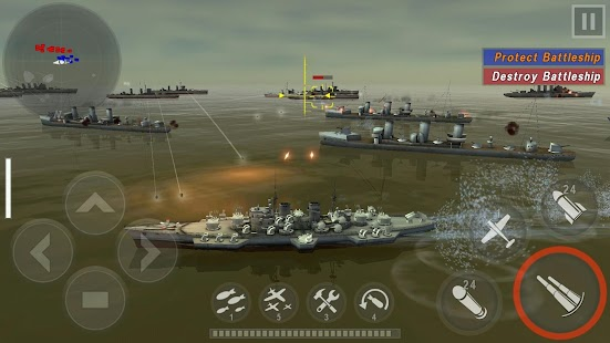 WARSHIP BATTLE:3D World War II- screenshot thumbnail