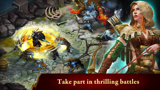 Guild of Heroes - fantasy RPG Spiele (apk) kostenlos herunterladen für Android/PC/Windows screenshot