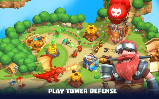 Wild Sky Tower Defense: Epic TD Legends in Kingdom apktram screenshots 9