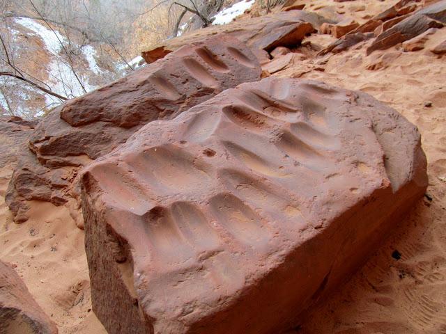 Boulder metates