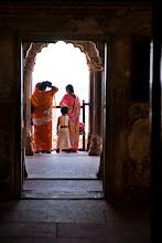 Photo: Family looking at Taj Mahal, Agra Fort, Agra, Uttar Pradesh, India