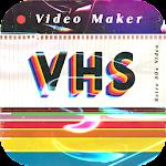 VHS Glitch Video Recorder & Vaporwave Video FX Icon