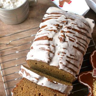 Glazed Banana Gingerbread