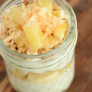 Banana Pina Colada Trifles