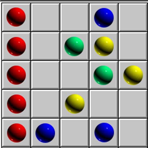 линии 98 -шарики 98-пять в ряд