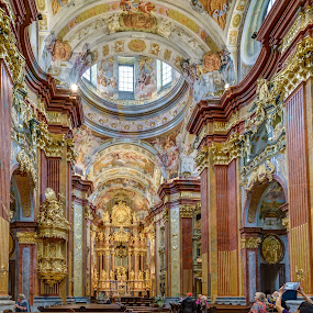MMPI_20150519_MMCK0057_0133_HDR by Mick McKean - Buildings & Architecture Places of Worship ( holiday, interior, building, hdr, church, family, architecture, melk abbey, melk, lower austria, austria, abbey,  )