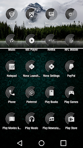 Ascend Gray - Icon Pack v1.6