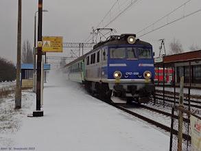 """Photo: EP07-1060, TLK """"Wieniawski"""" Bydgoszcz Główna - Lublin {Włocławek Zazamcze; 2015-01-25}"""