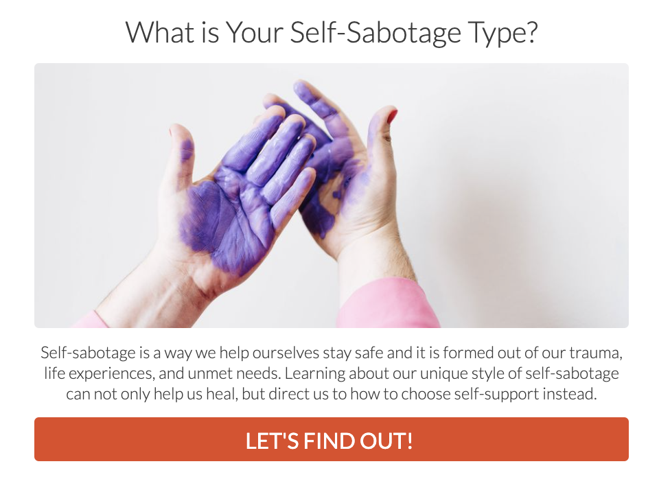 self-sabotage quiz cover