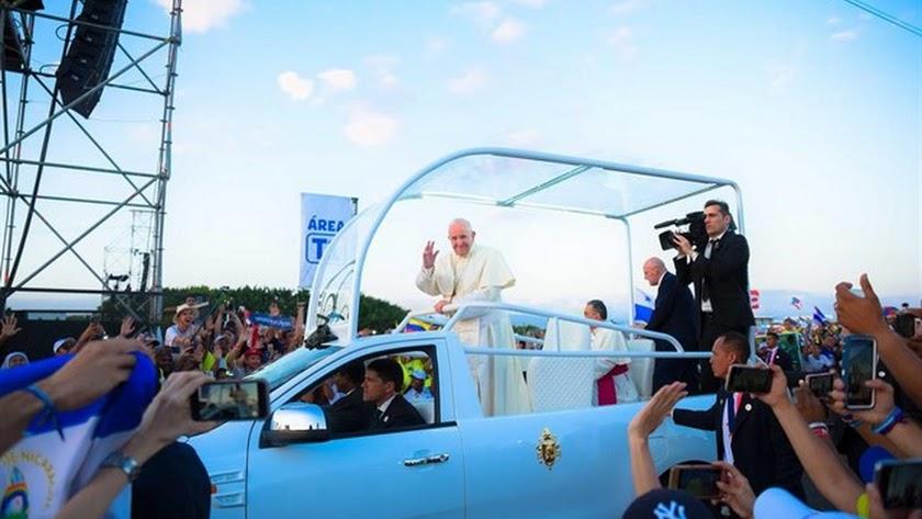 El Papa Francisco en Panamá.