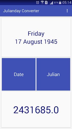 Julianday Converter
