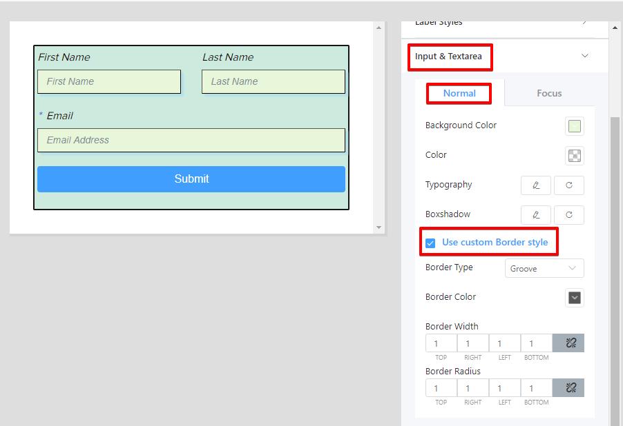 tool, form builder plugin