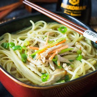 Quick & Easy Chinese Chicken Noodle Soup.
